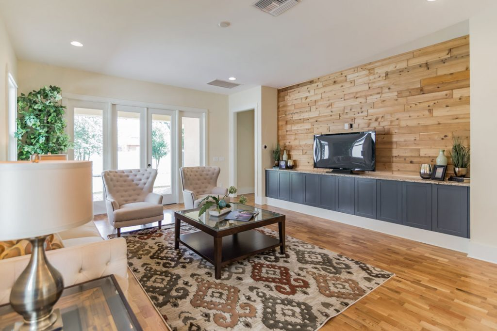 Staged Great Room - Vacant Staging Orlando