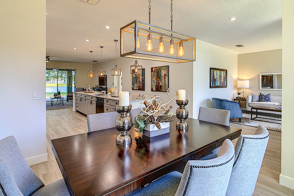 After Staging Kitchen - Home Staging Pros