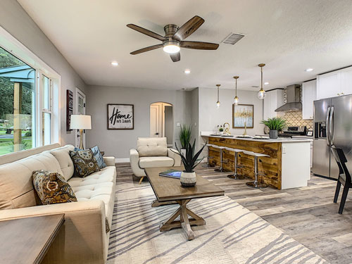 Occupied Staged Home